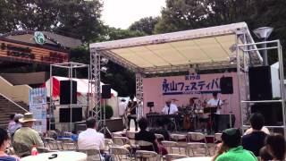 第15回永山フェスティバル マクドナルド前ステージにて...