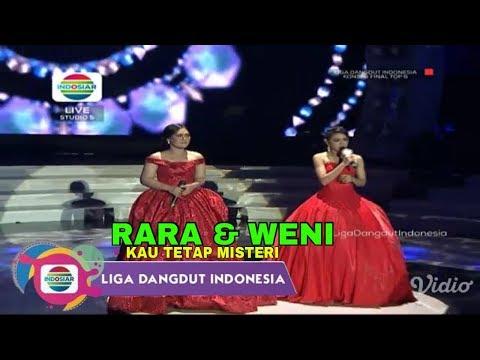 Rara & Weni (SumSel) - Kau Tetap Misteri  | Top 6 Group 1 Show LIDA Liga Dangdut Indonesia INDOSIAR