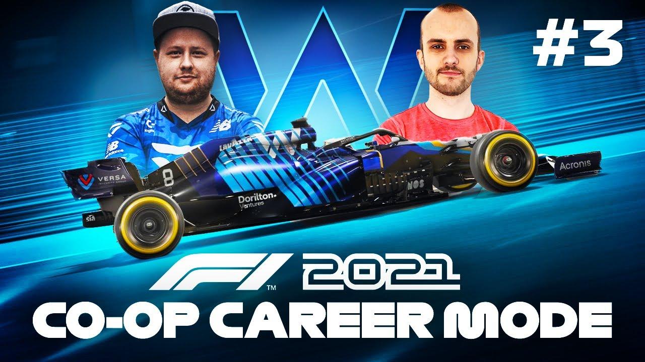 F1 2021 CO OP CAREER Part 3 - Baku