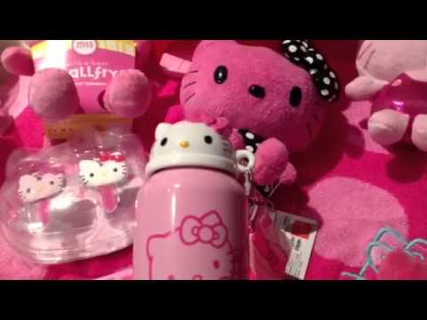 My Pink Hello Kitty Collection  YouTube