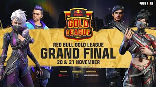 RED BULL GOLD LEAGUE GRAND  FINAL DAY 2 | FREE FIRE
