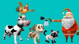 Suara Hewan ternak Untuk anak-anak ? Nama dan Suara Binatang ? Video pendidikan Anak-anak