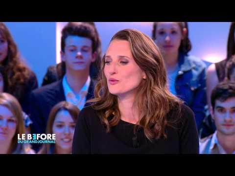 """La """"Connasse"""" Camille Cottin : l'interview - Le Before du Grand Journal"""