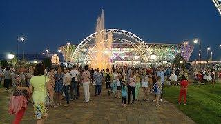 У подножия Мамаева кургана прошла церемония открытия Мемориального парка