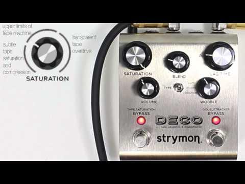 Strymon Engineering Deco demo by Lance Seymour