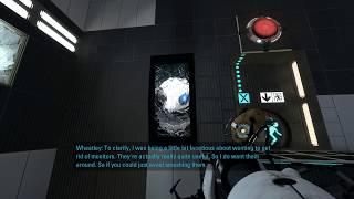 Portal 2 - breaking all Wheatley's monitors