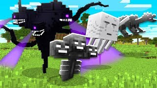 Minecraft: THE WITHER STORM VS TODOS OS BOSS DO MINECRAFT!! ‹ DONAT3LO ›