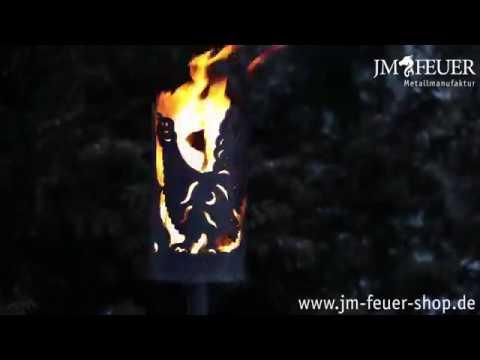 Jm Feuer Shop gartenfackel auerhahn aus metall