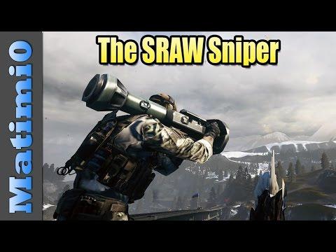 The SRAW Sniper - Battlefield 4