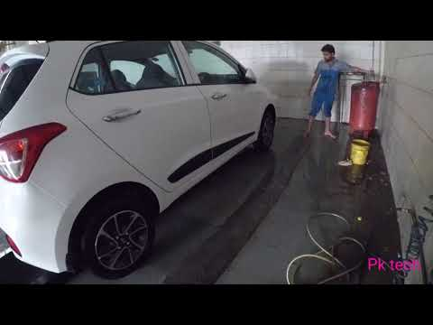 Car wash in hyundai (hyundai grand i10 )
