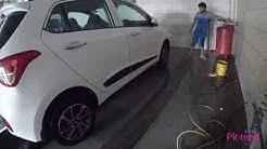 Car wash in hyundai (hyundai grand i10 )