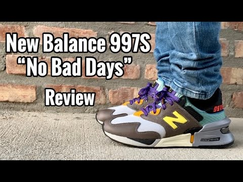 "New Balance 997S x Bodega ""No Bad Days"" Review & On feet"