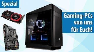 Gaming-PCs von PC-WELT & Caseking ab 780 Euro mit exklusiven Goodies! | PC-WELT Gamer Ultra i7 2018