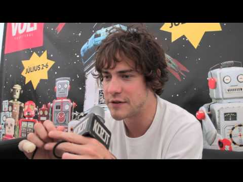 Interview with Andrew from MGMT @ VOLT Festival, Hungary // 2014.07.02.