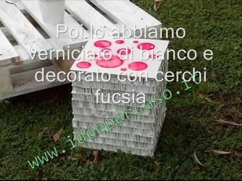 Come realizzare uno sgabello con il cartone riciclato youtube