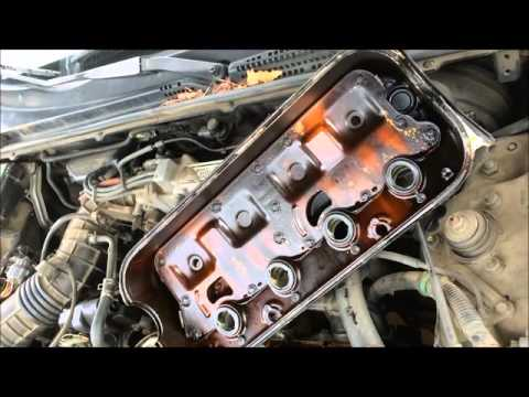 1991 honda accord valve cover gasket replacement