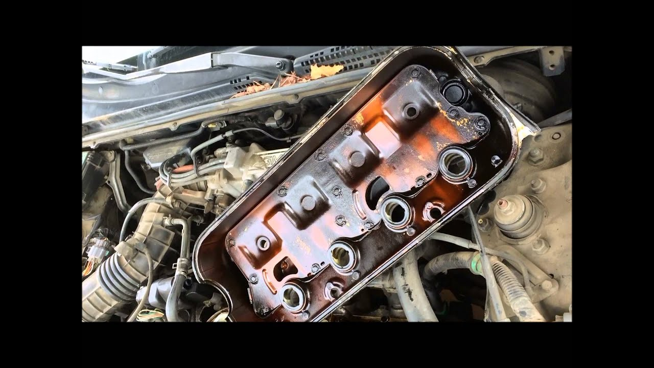1991 honda accord valve cover gasket replacement [ 1280 x 720 Pixel ]
