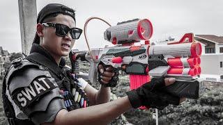 LTT Game Nerf War : Couple Warriors SEAL X Nerf Guns Fight Braum Crazy Hunters Of Boss