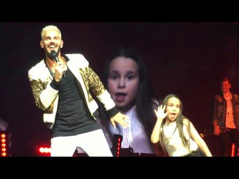 M.Pokora et Manuela. My Way Tour (25.04.2017/Montpellier)