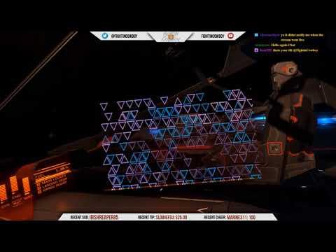 Elite Dangerous in VR - Commander Cowboy Returns