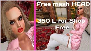free mesh head bento free Linden for shop Бесплатная меш голова и бесплатные деньги на шоппинг