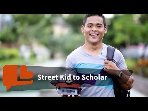 Street Kid Turns Scholar Thanks to Police