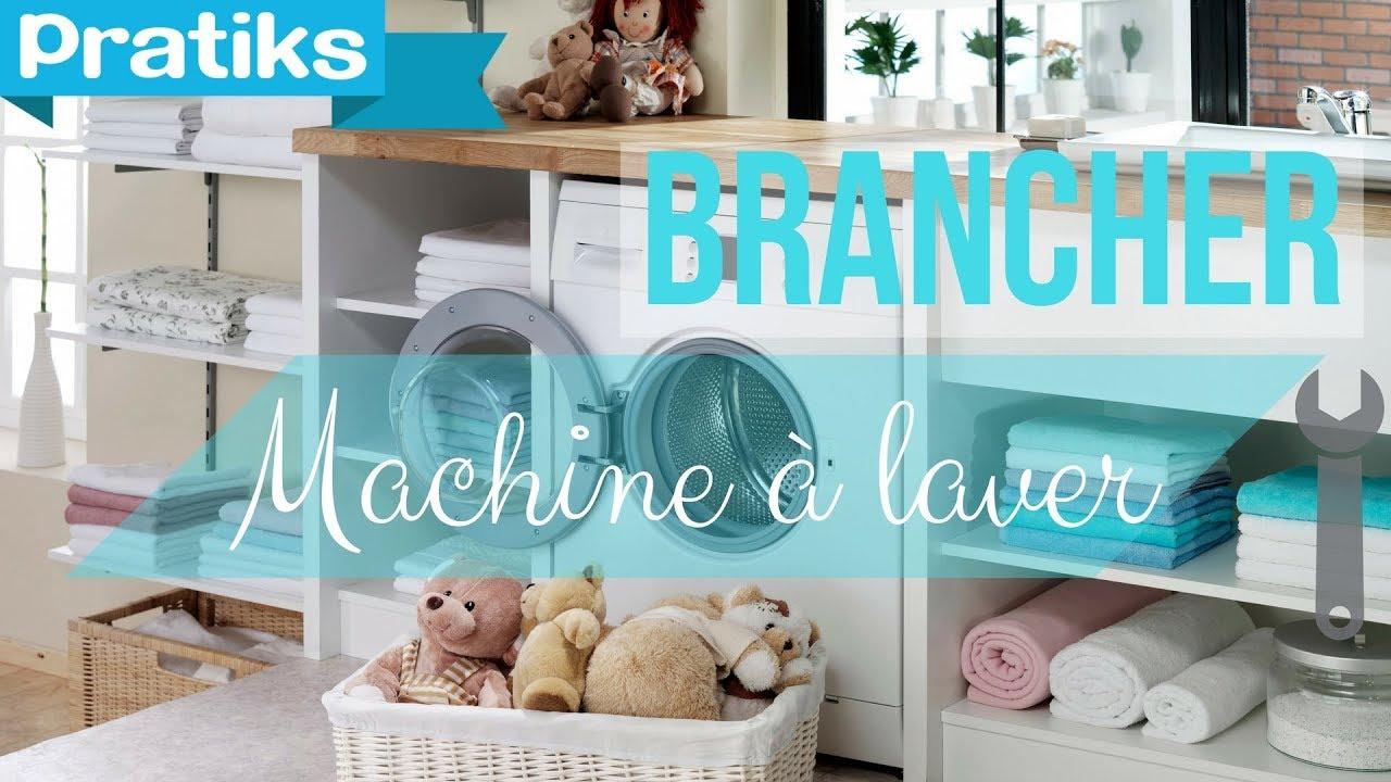 comment brancher une machine laver cuisine salle de bain bricolage youtube. Black Bedroom Furniture Sets. Home Design Ideas
