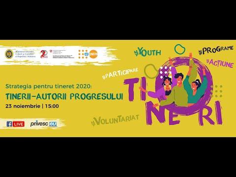 Strategia pentru Tineret 2020: Tinerii - autorii progresului