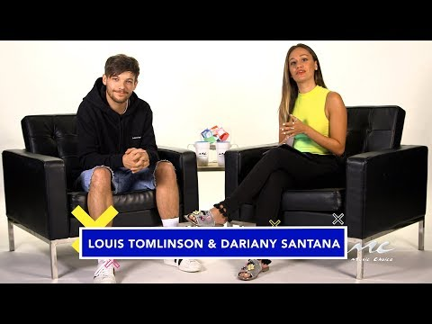 at  Choice with Louis Tomlinson