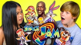 Video KIDS REACT TO SPACE JAM (20th Anniversary) download MP3, 3GP, MP4, WEBM, AVI, FLV Desember 2017