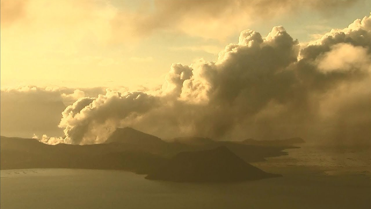 Watch live: Ash gushes from Philippines volcano