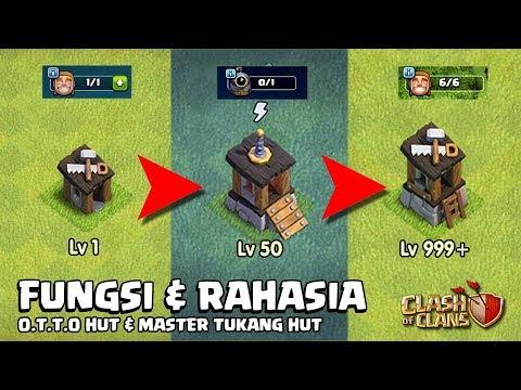FUNGSI & RAHASIA MASTER Builder & O.T.T.O HUT MAX CoC YANG BARU!!