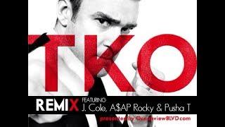 Justin Timberlake ft. J. Cole, A$AP Rocky & Pusha T -- TKO (Remix) FULL NO TAGS