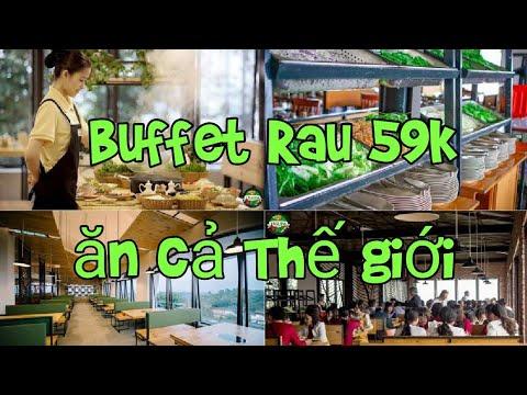 Buffet rau Leguda 59k ăn rau thỏa thích