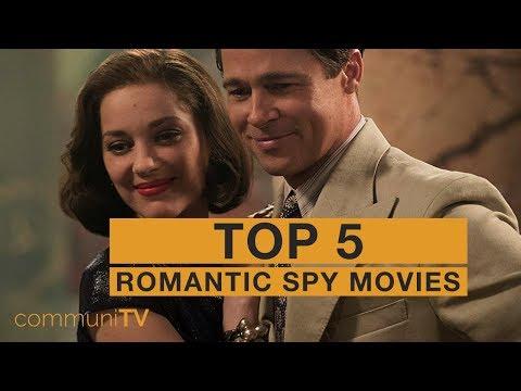 TOP 5: Romantic Spy Movies