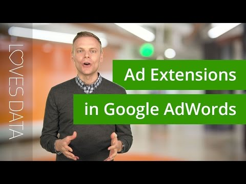 Ad Extensions in Google AdWords // Tutorial