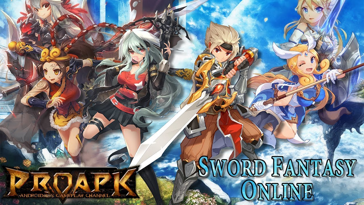 Sword Fantasy Online – Anime MMORPG Gameplay Android / iOS