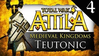 POLAND STRONK Medieval Kingdoms Total War Attila Teutonic Order Gameplay 4