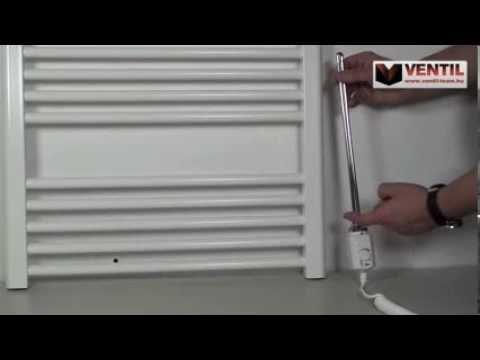 Törölközőszárító radiátor szerelése
