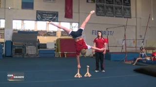 Advanced Handstands - Acrobatic Gymnastics - Brandi Lewis
