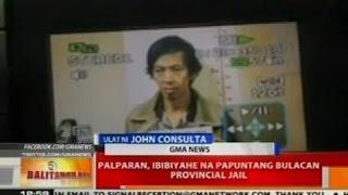 BT: Palparan, ibibyahe na papuntang Bulacan Provincial Jail