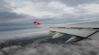 Turkish airline take off from New Istanbul airport to JFK Airport