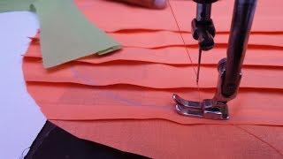Pattern pintex खूबसूरत डिज़ाइन बनाये फुल कालर कुर्ती में / Collar Kurti Neck Design