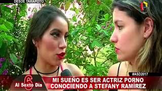 Mi sueño es ser actriz porno: Conociendo a Stefany Ramírez