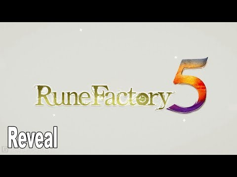 Rune Factory 4 - New Trailer and Rune Factory 5 Reveal Trailer [HD 1080P]