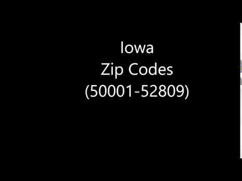 Iowa Zip Codes