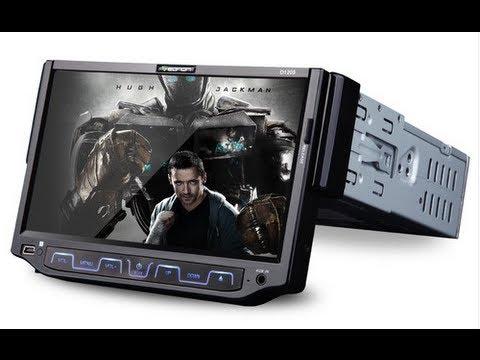 Eonon D1205 7' LCD TouchScreen Car Stereo - YouTube on