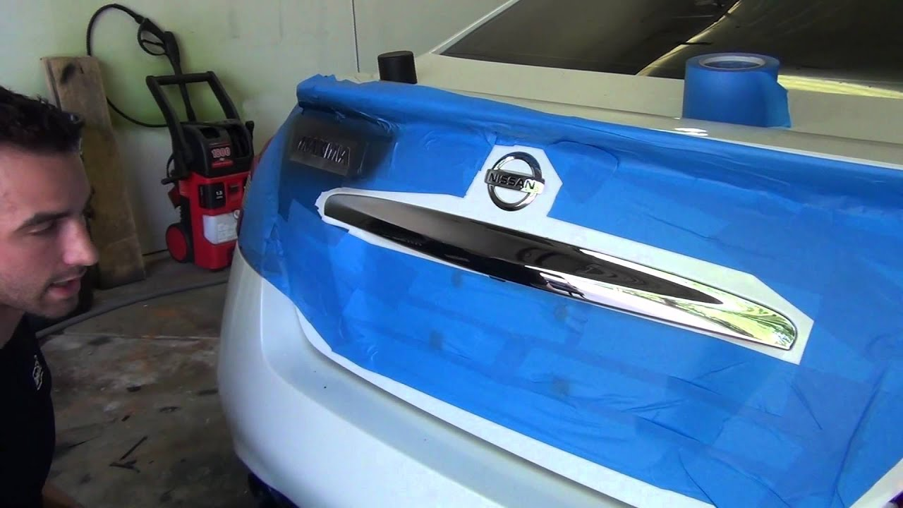 Plasti Dip Emblems >> How To Plasti Dip Emblems And Front Grille Hd Step By Step