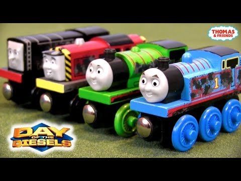 Day Of The Diesels Mystery Engines Review | Thomas Wooden Railway Discussion #97