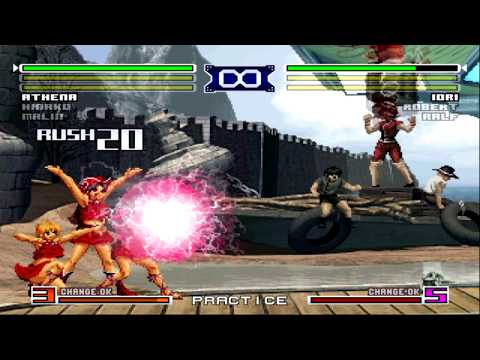 King of Fighters 2003 All Desperation Moves